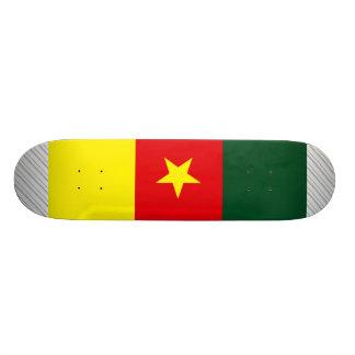 Cameroon Flag Skate Board