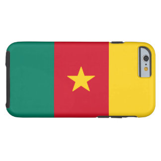 Cameroon Flag Tough iPhone 6 Case