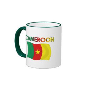 Cameroon Flag Tri Color Coffee Mugs