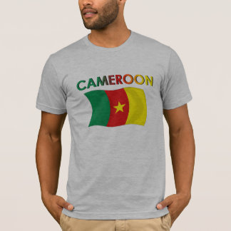 Cameroon Flag Tri Color T-Shirt