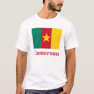 Cameroon Flag with Name in French T-Shirt