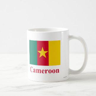 Cameroon Flag with Name Coffee Mugs
