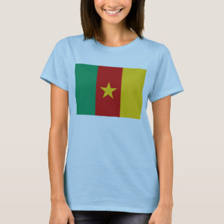 Cameroon Flag x Map T-Shirt