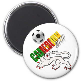 Cameroon football tees and gifts 2 inch round magnet