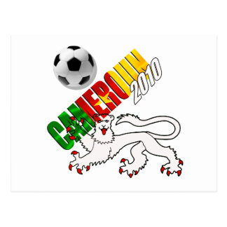 Cameroon football tees and gifts postcard