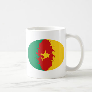 Cameroon Gnarly Flag Mug