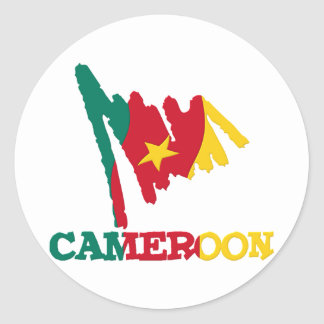 Cameroon Goodies 1 Classic Round Sticker