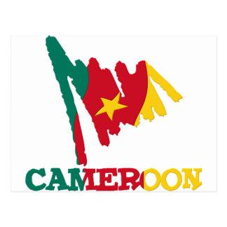 Cameroon Goodies 1 Postcard