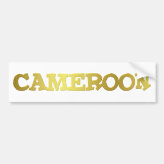 Cameroon Goodies 2 Bumper Sticker