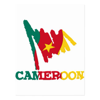 Cameroon Goodies Postcard
