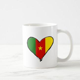Cameroon love - I love Cameroon flag gifts Coffee Mug