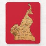 Cameroon Map Mousepad