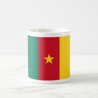 cameroon classic white coffee mug