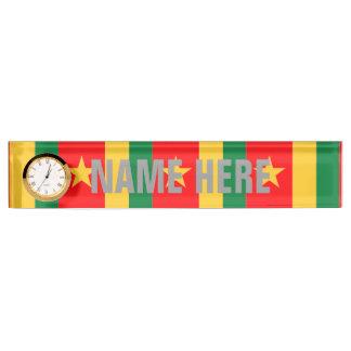 Cameroon Desk Nameplates