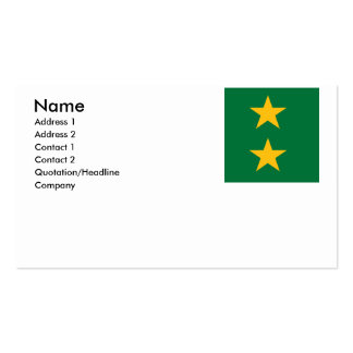Cameroon Old Double-Sided Standard Business Cards (Pack Of 100)