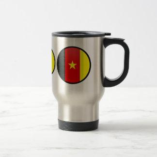 Cameroon quality Flag Circle Mugs