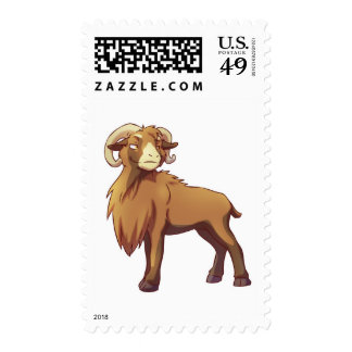 Cameroon Sheep 3 Postage Stamps