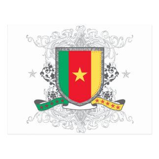Cameroon Shield Postcard