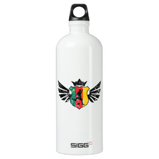 Cameroon soccer aluminum water bottle