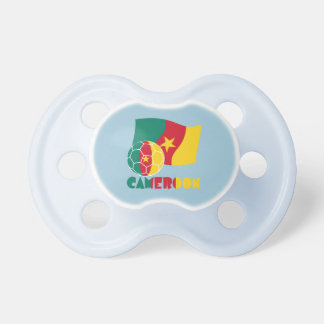 Cameroon Soccer Ball and Flag Pacifier