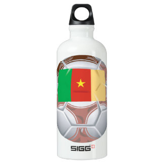 Cameroon Soccer Ball Water Bottle