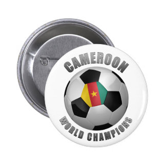 CAMEROON SOCCER CHAMPIONS PINS