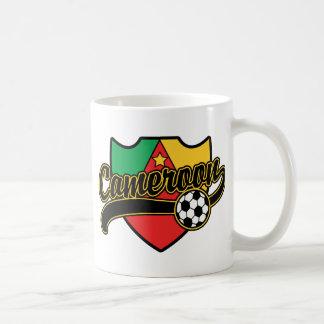 Cameroon Soccer Classic White Coffee Mug
