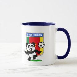 Combo Mug with Cameroon Football Panda design