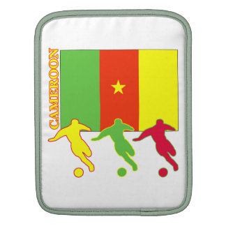 Cameroon Soccer Players Sleeves For iPads