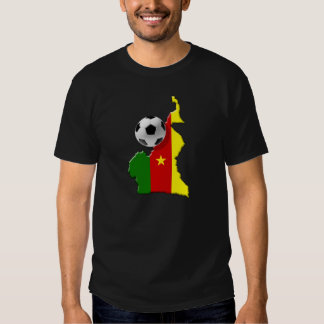 Cameroon Soccer T-shirts