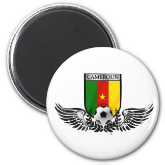 Cameroon Soccer T-shirts 2 Inch Round Magnet