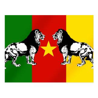 Cameroon Soccer T-shirts Postcard