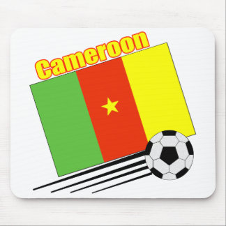 Cameroon Soccer Team Mouse Pad