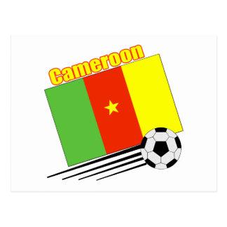 Cameroon Soccer Team Postcard