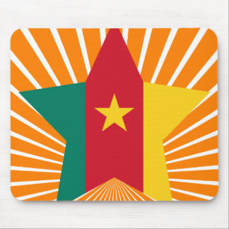 Cameroon Star Mousepad