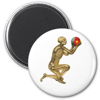 Cameroon til I die Cameroon football fans gifts 2 Inch Round Magnet