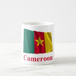 Cameroon Waving Flag with Name Coffee Mugs