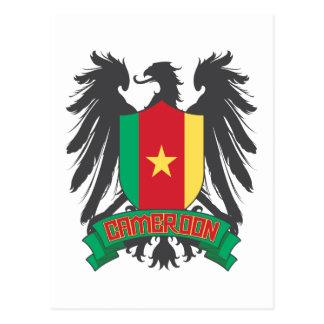 Cameroon Winged Postcard