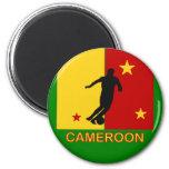 Cameroon World Soccer 2010 Magnet
