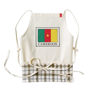 Cameroon Zazzle HEART Apron