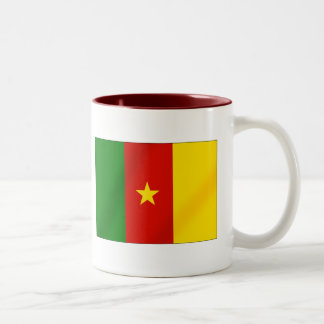 Cameroonian flag of the Cameroon gifts Mug