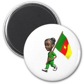 Cameroonian Girl Magnet