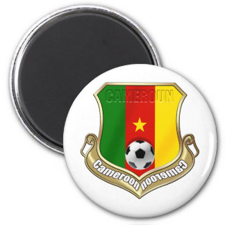 Cameroun Badge emblem sheild gifts 2 Inch Round Magnet