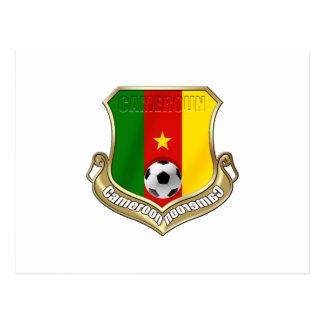 Cameroun Badge emblem sheild gifts Postcard
