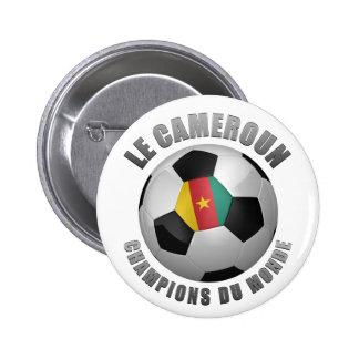 CAMEROUN SOCCER CHAMPIONS BUTTON