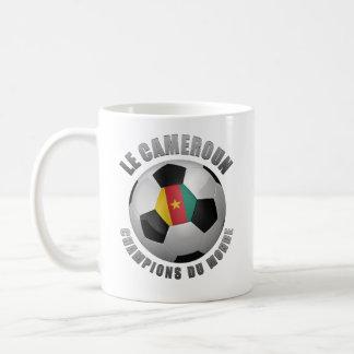 CAMEROUN SOCCER CHAMPIONS COFFEE MUG