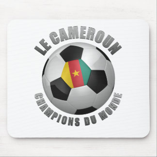 CAMEROUN SOCCER CHAMPIONS MOUSE PAD