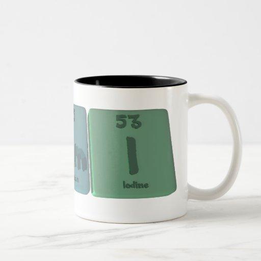 Cami as Carbon Americium Iodine Two-Tone Coffee Mug