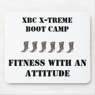 cami high heels, XBC X-Treme Boot Camp, Fitness... Mouse Pad