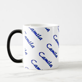 Camila Blue Style 11 oz Morphing Mug